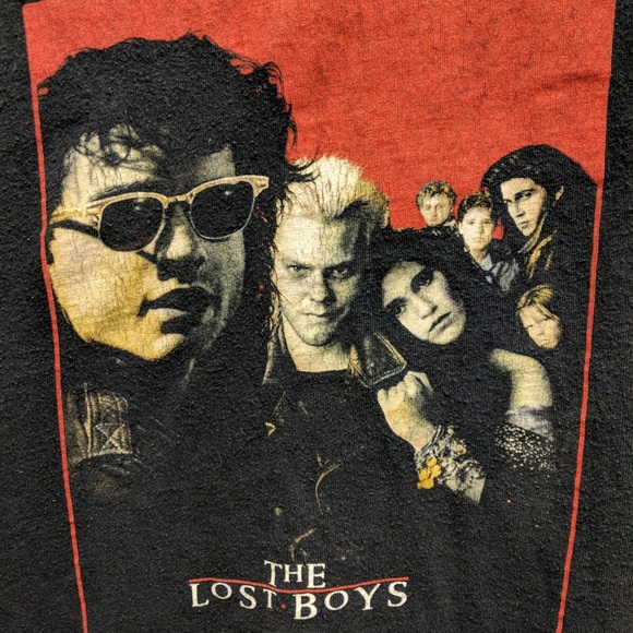 748e49d9829 Lost boys T-shirt vintage graphic tee. M 5aab1ddd2ab8c56948fbbc94